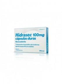 HIDRASEC 100 MG 10 CAPSULAS...