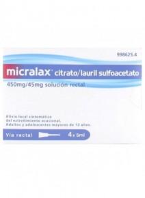 MICRALAX CITRATO/LAURIL...